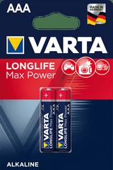Varta akkumulátor Longlife Max Power elem 2 AAA 4703101412