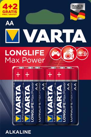 Varta Longlife Max Power elem 4+2 AA 4706101436