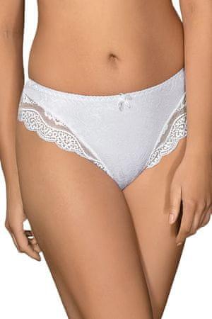 Ava Dámská tanga 925 white bílá M + dárek zdarma