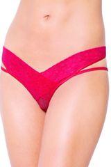 Softline Collection Erotické kalhotky 2438 red