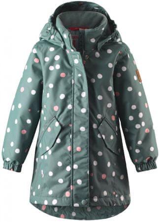Reima dievčenská zimná bunda Taho 146 zelená