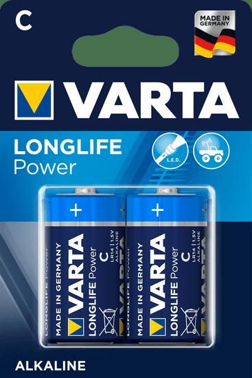 VARTA Batérie Longlife Power 2 C 4914121412