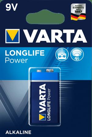 Varta alkalna baterija 9v 6LR61 High Energy