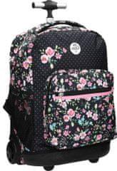 Street školski ruksak Trolley Flowers, motiv cvijeća