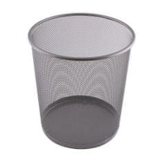 Leviatan koš za smeti kovinski srebrn, 12l 110482