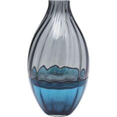 KARE Váza Bicolore Acqua Drop 34 cm