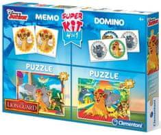 Clementoni 4 az 1-ben Lion Patrol Games