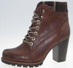 Tom Tailor dámská kotníčková obuv na podpatku 7990207