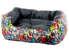 Kutya ágy Graffitti 80cm x 70xm