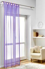 My Best Home zasłona dekoracyjna DIANA 140x245 cm, fioletowa