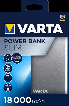 Varta Slim Power Bank 18000 mAh 57967101111