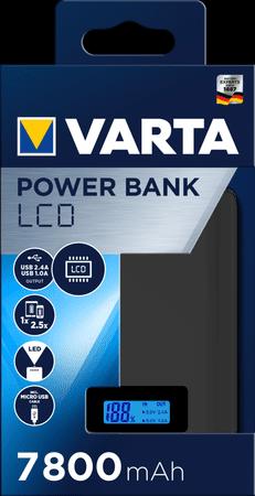 Varta LCD Power Bank 7800 mAh 57970101111