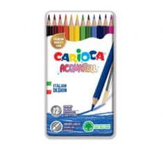Carioca akvarelne barvice haxagonalne 1/12 + čopič