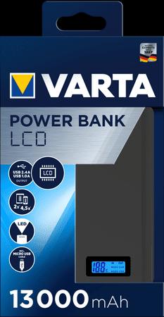 Varta LCD Power Bank 13000 mAh 57971101111