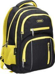 Street ruksak round colour, žuti