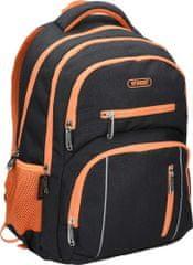 Street ruksak round colour, narančasti