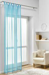My Best Home Dekorační záclona DIANA tyrkysová 140x245 cm