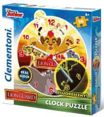 Clementoni Oroszlánkirály puzzle óra 96 darabos