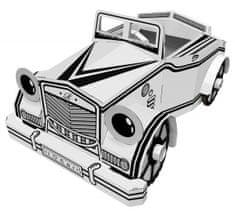 4D Cityscape papierowe zabawki - Samochód