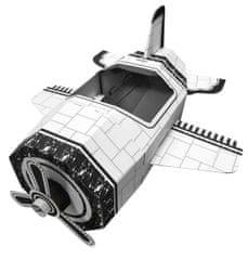 4D Cityscape Papierové hračky - Lietadlo