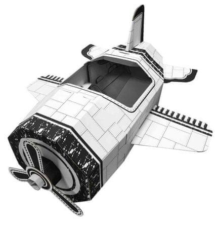 4D Cityscape Papír játék- repülő
