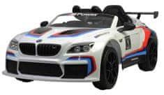 CHI LOK BO Elektrické auto BMW M6 GT3 bílé