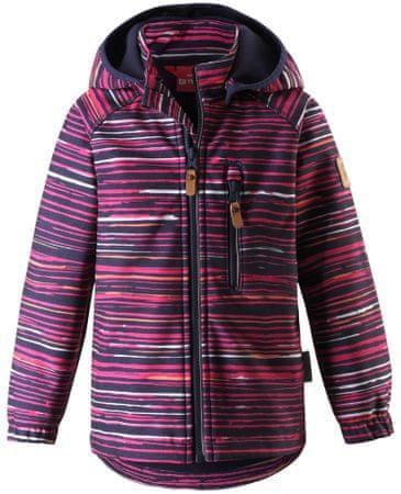 Reima gyerek softshell kabát Vantti 128 lila