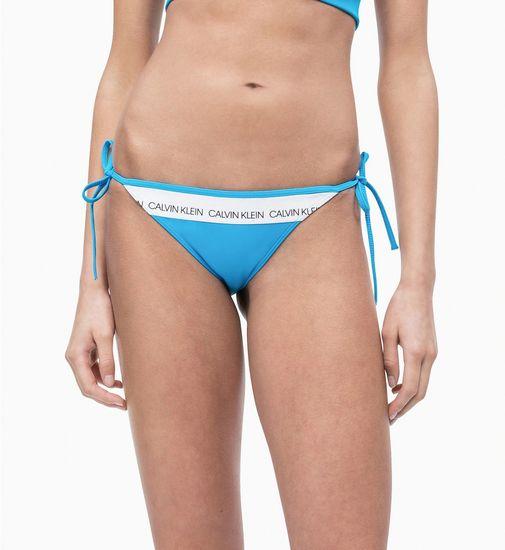 Calvin Klein Spodní díl plavek KW0KW00650-451 modrá - Calvin Klein modrá S