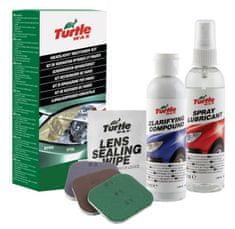 Turtle Wax Sada na čištění a obnovu světlometů, Headlight Restorer Kit, váha: 0,34 kg