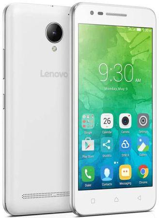 Lenovo C2 Power mobilni telefon, 2GB/16GB, Dual SIM, bel
