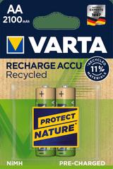 Varta Tölthető elem Recycled 2 AA 2100 mAh R2U 56816101402