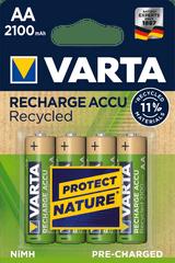 Varta Tölthető elem Recycled 4 AA 2100 mAh R2U 56816101404