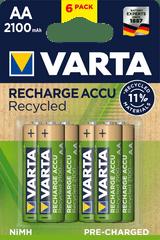 Varta Tölthető elem Recycled 6 AA 2100 mAh R2U 56816101436