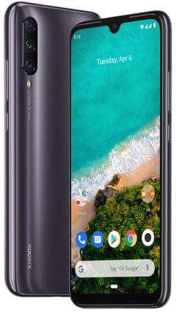 Xiaomi Mi A3, 4GB/128GB GSM telefon, siv