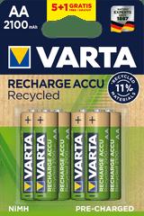 Varta Tölthető elem Recycled 5+1 AA 2100 mAh R2U 56816101476