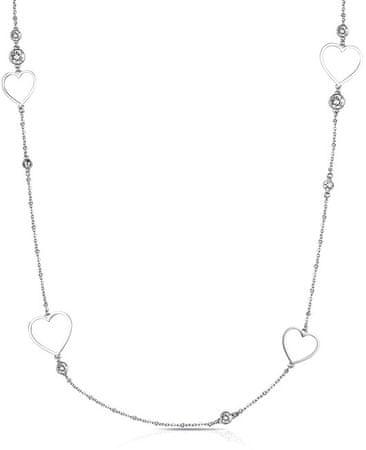 Brosway Naszyjnik w kształcie serca ze stali Sight BGH03