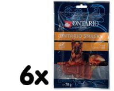 Ontario Snack Dry Lamb Fillet 6x70g