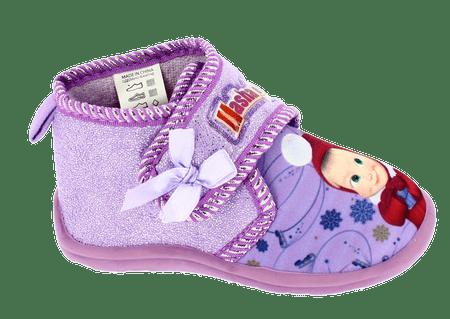 Disney by Arnetta dievčenské papučky Máša a medveď 21 fialové