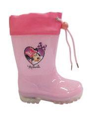 Disney by Arnetta dievčenské svietiace gumáky Minnie
