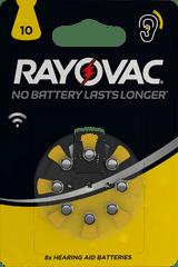 Varta baterie do aparatów słuchowych Rayovac HAB 10 8pack 4610745418