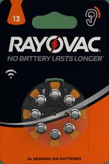 Varta baterie do aparatów słuchowych Rayovac HAB 13 8 pack 4606745418