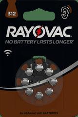 Varta Rayovac HAB 312 (8 pack) baterije za slušni aparat 4607745418, 8 kosov