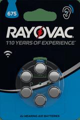 Varta baterie do aparatów słuchowych Rayovac 675 6pack 4600745416