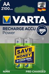 Varta R2U 56706101402 Snaga 2 AA, punjiva baterija od 2100 mAh