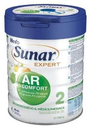 Sunar dojčenské mlieko Expert AR / AC 2, 700g