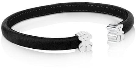 Tous Czarny bransoletka z misiami 311901560 - metal podstawowy 3 g + srebro 2 g