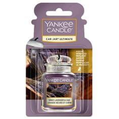 Yankee Candle gelová visačka do auta Dried Lavender & Oak