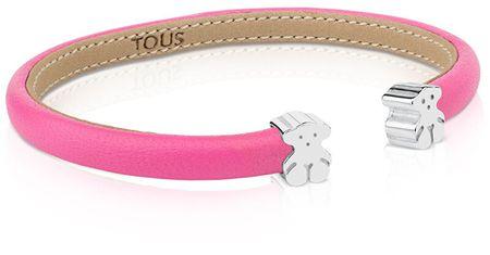 Tous Rózsaszín mackó karkötő 311901500 - 3 g fém + ezüst 2 g