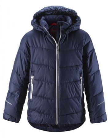 Reima dievčenská zimná bunda Malla 164 tmavomodrá