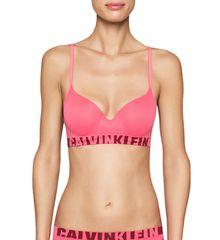 Calvin Klein Podprsenka Seamless QF1631E růžová - Calvin Klein + dárek zdarma